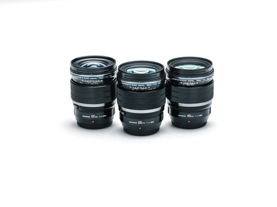 New olympus 45 and 17mm lenses