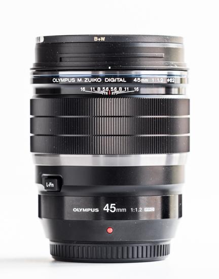 Olympus 45mm Pro F/1.2