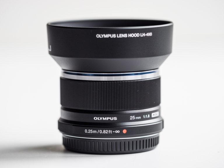 Olympus 25mm F/1.8mm Lens