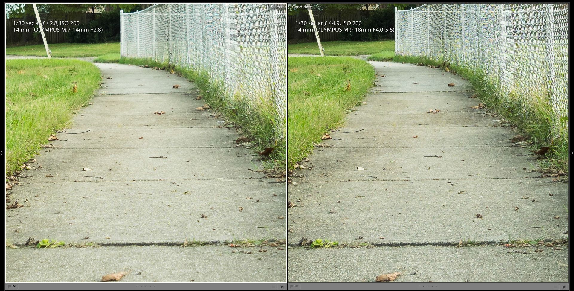 Olympus Wide Angle Zooms 9-18 vs 7-14 Review Part 3
